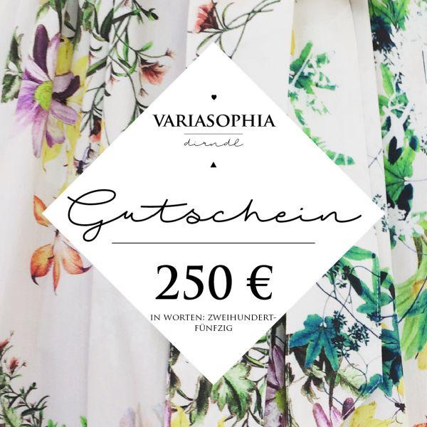 250€-Gutschein