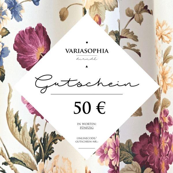 50€-Gutschein zum Ausdrucken