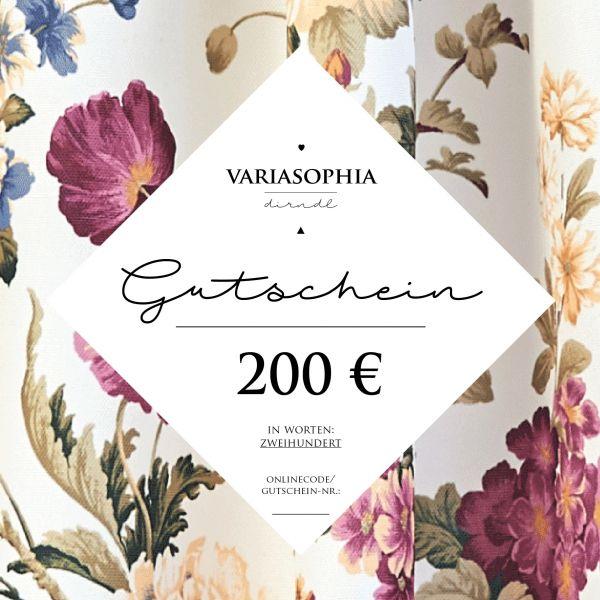 200€-Gutschein zum Selberdrucken